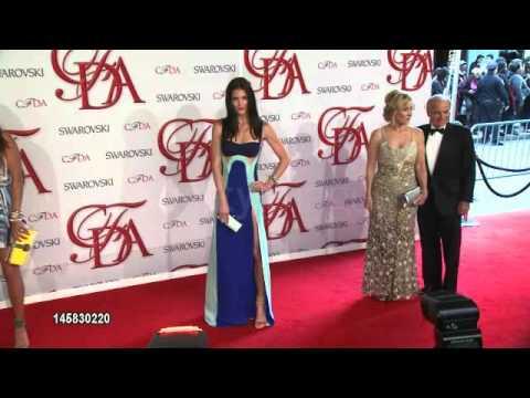 Hilary Rhoda at 2012 CFDA Fashion Awards
