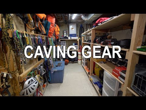 Cave Gear Storage Room Tour