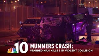 Mummers Killed in Violent South Philly Crash Involving Stabbed Driver