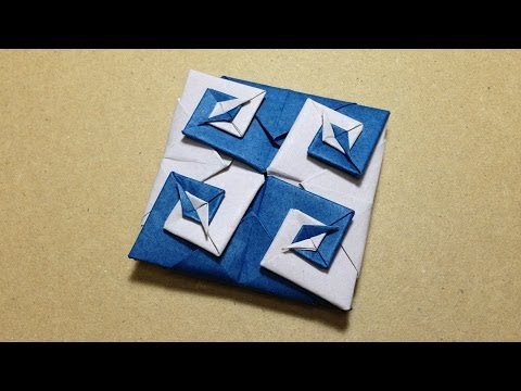 Modular Origami / Origami Vortex Coaster