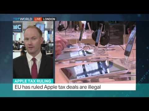 Interview with market analyst Jasper Lawler about Apple tax judgement