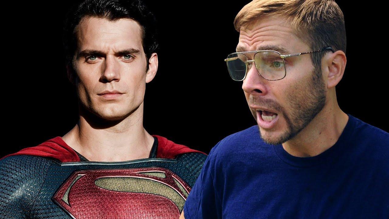 DAD WATCHES MAN OF STEEL: SUPERMAN
