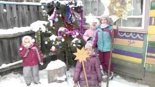 Різдво на Обирку 2016(Малі обирчани та їх гості вітають вас з Різдвом !, 2016-01-11T18:17:06.000Z)