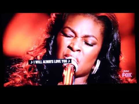 Candice Glover Love song