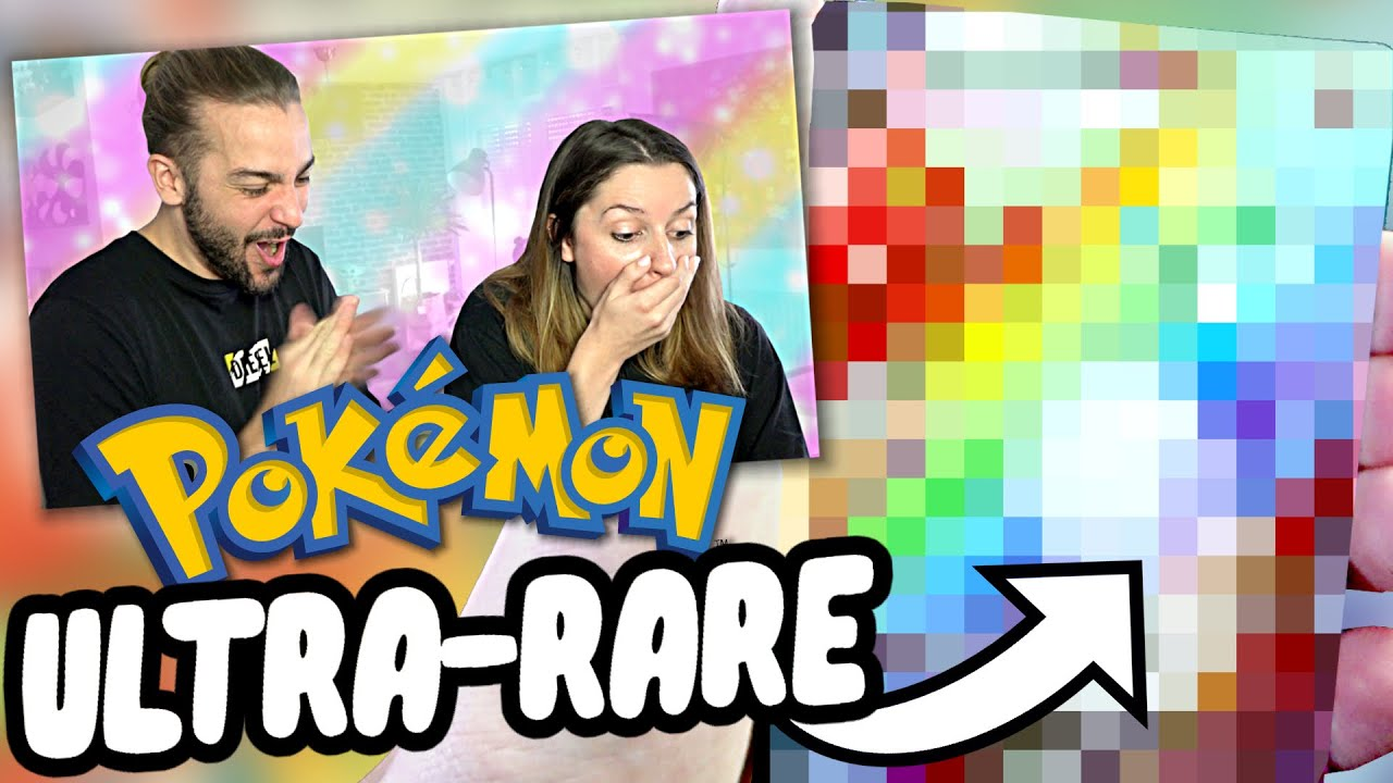 LA CARTE POKEMON DE NOS REVES ! | DUEL GUILLAUME VS KIM OUVERTURE POKEMON