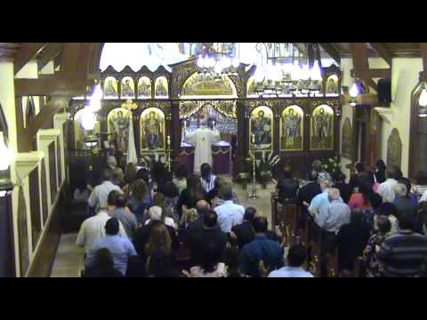 2015 03 18 St Joseph name day mass with Bishop Rabbat