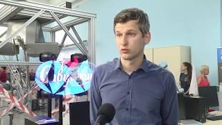 2019-09-11 г. Брест. Открытие лаборатории промышленной робототехники. Новости на Буг-ТВ. #бугтв