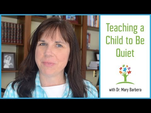 Shhh...Quiet Please!  Reducing Verbal Stimming and Scripting in Children with Autism Mp3