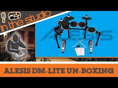 Alesis DM Lite Electronic Drum Kit Un-Boxing