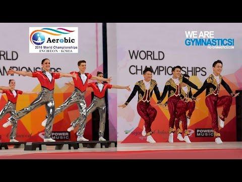 HIGHLIGHTS - 2016 Aerobic Worlds, Incheon (KOR) – Aerobic Dance & Aerobic Step - We Are Gymnastics !