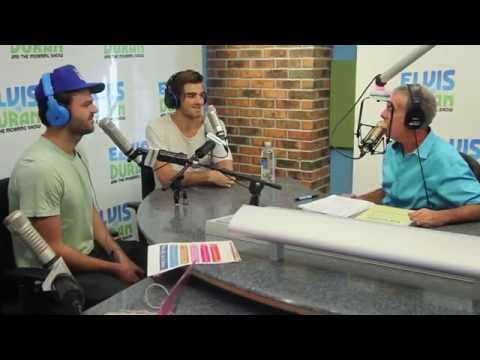 The Chainsmokers Interview on Elvis Duran and the Morning Show