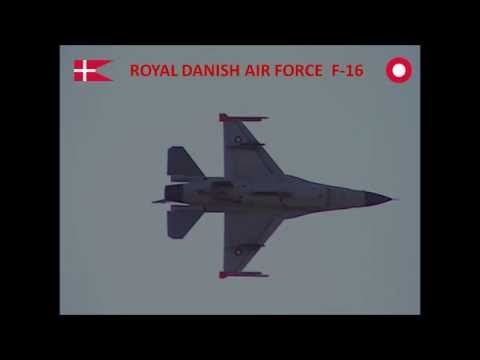 F-16 fast jet fighter - Royal Danish Air Force