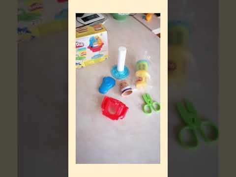 Набор для лепки Hasbro Play-Doh Mini Любимые наборы в миниатюре Сумасшедшие прически (E4902_E4918) (5010993555079)