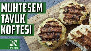 ÇILDIRTAN TAVUK KÖFTESİ : Tavuğun en lezzetli hali! | FitYemek