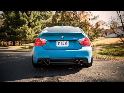 Brutal BMW 335i 335D exhaust sounds