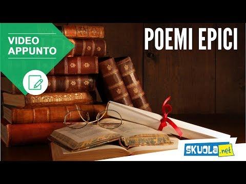 Che cosa sono i poemi epici