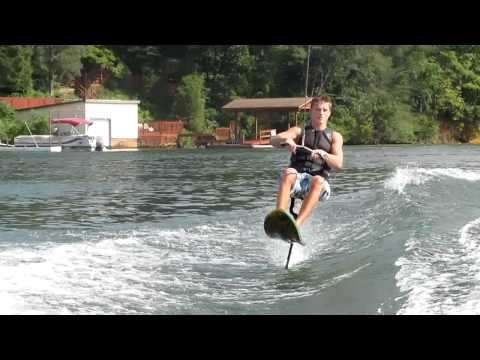 Cole Sarver Claytor Lake air chair back flip