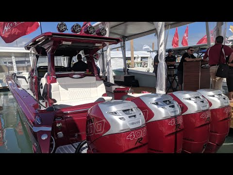 Monster Boats at the Boat Show (4 and 5 engines only )