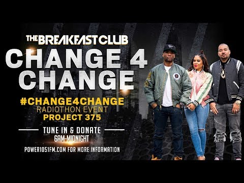 The Breakfast Club - The Breakfast Club Kick Off Our Annual #Change4Change Radiothon