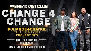 The Breakfast Club Kick Off Our Annual #Change4Change Event With An Important Message
