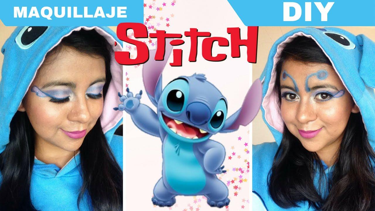 maquillaje stitch