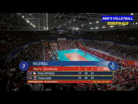 Download PHILIPPINES VS THAILAND MEN'S VOLLEYBALL  4th Set SEMI-FINALS  2019 SEAGAMES