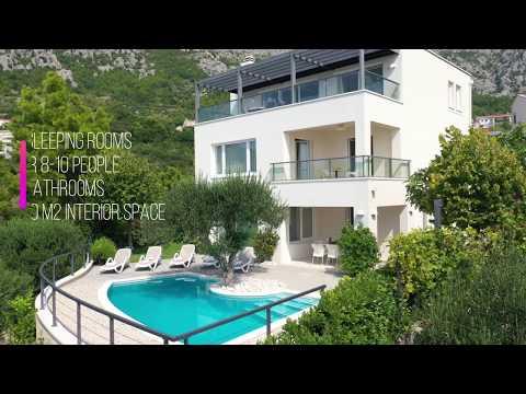 Villa Lukić *****, Makarska - modern villa with private pool