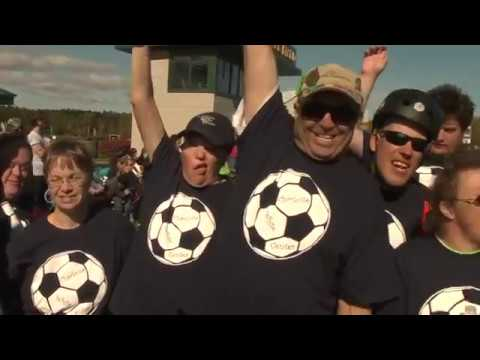 Special Olympics Maine soccer tournament