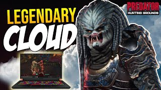 LEGENDARY CLOUD PREDATOR! Using a LAPTOP to PLAY Predator Hunting Grounds \