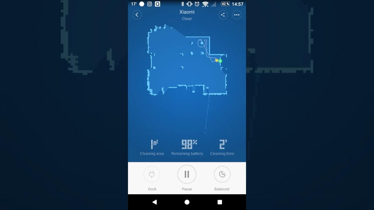 (Mi Home App - Realtime) - Xiaomi Mi Robot Vacuum -