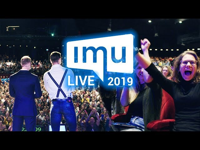 IMU Live 2019 Aftermovie / Het grootste online marketing event van Nederland
