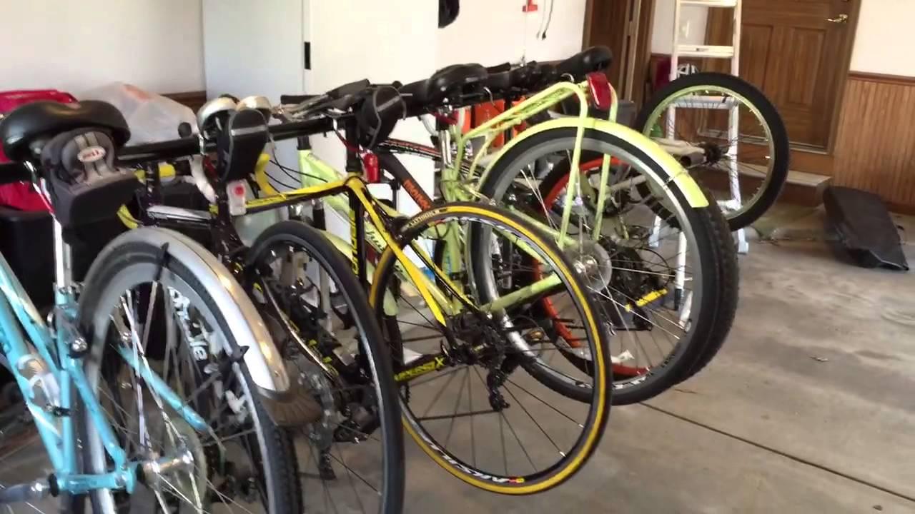 Garage Gator Ggr220 Bicycle Lift Youtube