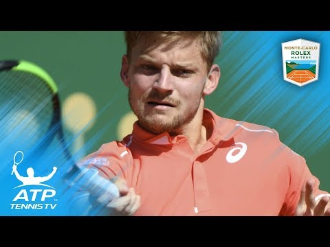 Grigor Dimitrov vs David Goffin Best Shots | Monte-Carlo 2018