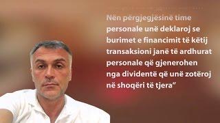 A1 Report - Mark Frroku shiti tek Dzanashvili  aksionet e firmës me 1.4 mln euro