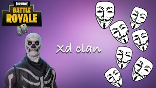 xd clan made me a hacker- fortnite