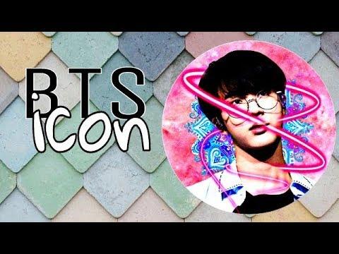 BTS icon tutorial part #01