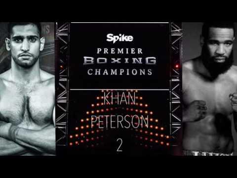 Amir Khan vs Lamont Peterson 2 - PREMIER BOXING CHAMPIONS