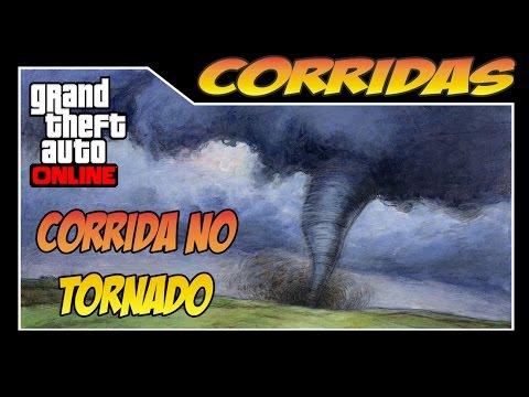 GTA ONLINE - Corridas Mortais - CORRIDA NO TORNADO!! Ultimate Tornado