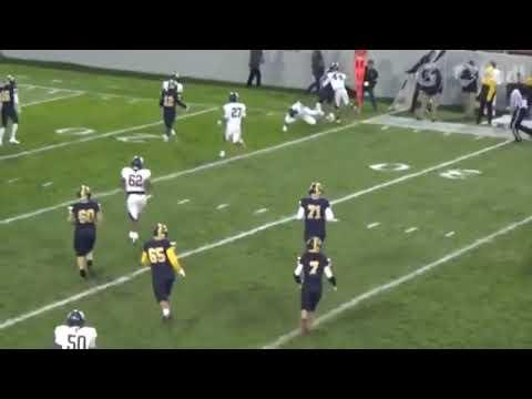 Michigan Football the VLOG, Braiden McGregor High School Highlights.