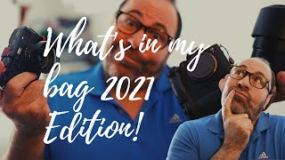 What's in my bag 2021 for both photo and video!