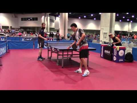 AJ Carney v Kenneth Pinili US Open 2016 Sandpaper Finals 1 of 2