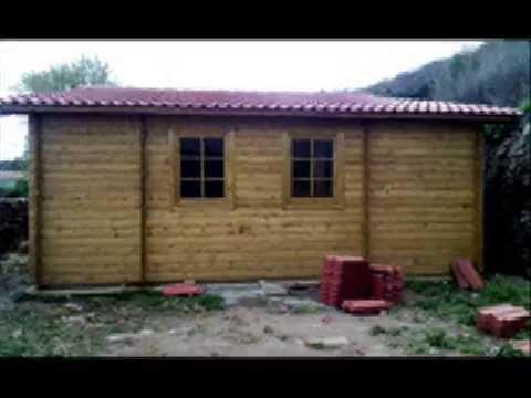 Casas de madera modelo kristy youtube - Youtube casas de madera ...