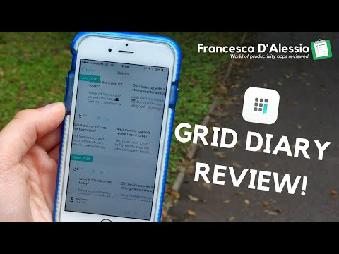 Grid Diary Review: Journal across your day!