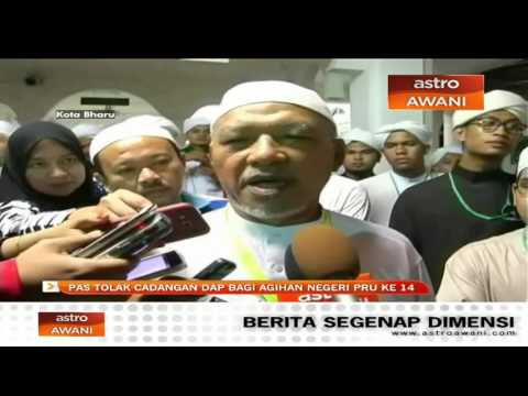 PAS tolak cadangan DAP bagi agihan negeri PRU ke-14