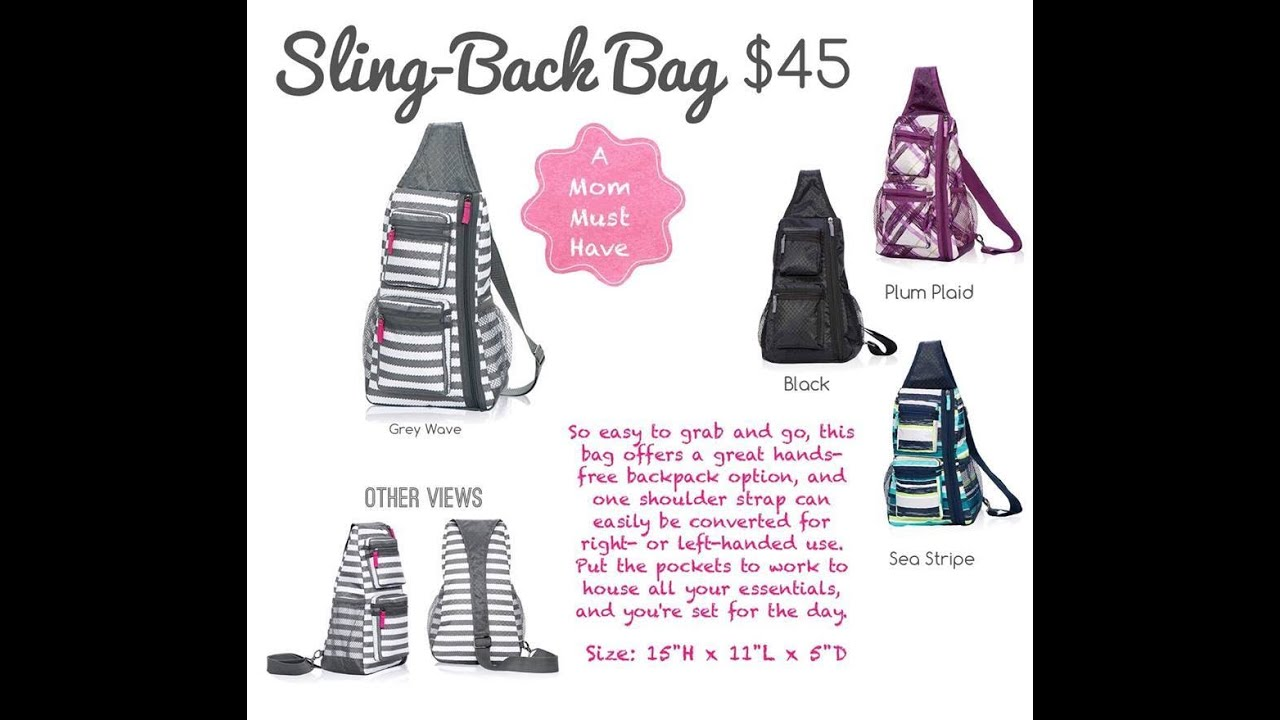 Sling-Back Bag from Thirty-One Gifts - YouTube