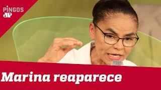 Marina aparece fora da eleição para atacar Bolsonaro
