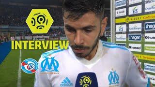 Interview de fin de match : RC Strasbourg Alsace - Olympique de Marseille (3-3) / 2017-18
