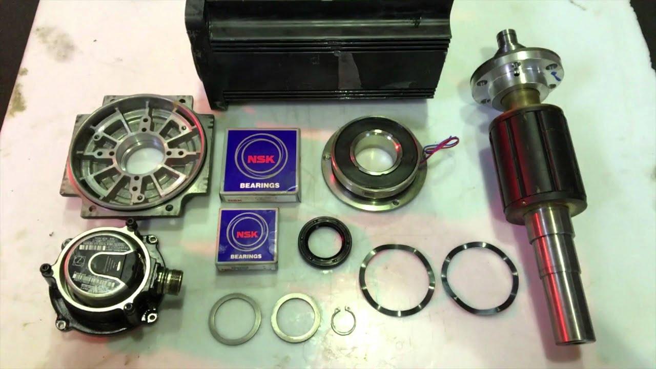 Bosch Rexroth Type Mhd093a 058 Pg1 Aa Servo Motor Test