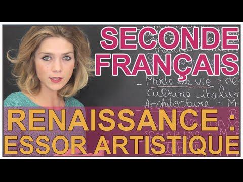 Renaissance : essor artistique - Français 1ère L - Les Bons Profs