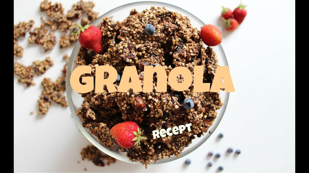 raw granola recept